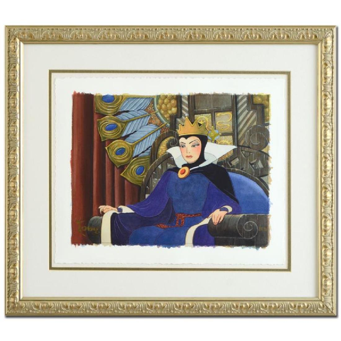 """Toby Bluth (1940-2013) - """"Face of Evil"""" Limited Edition"""