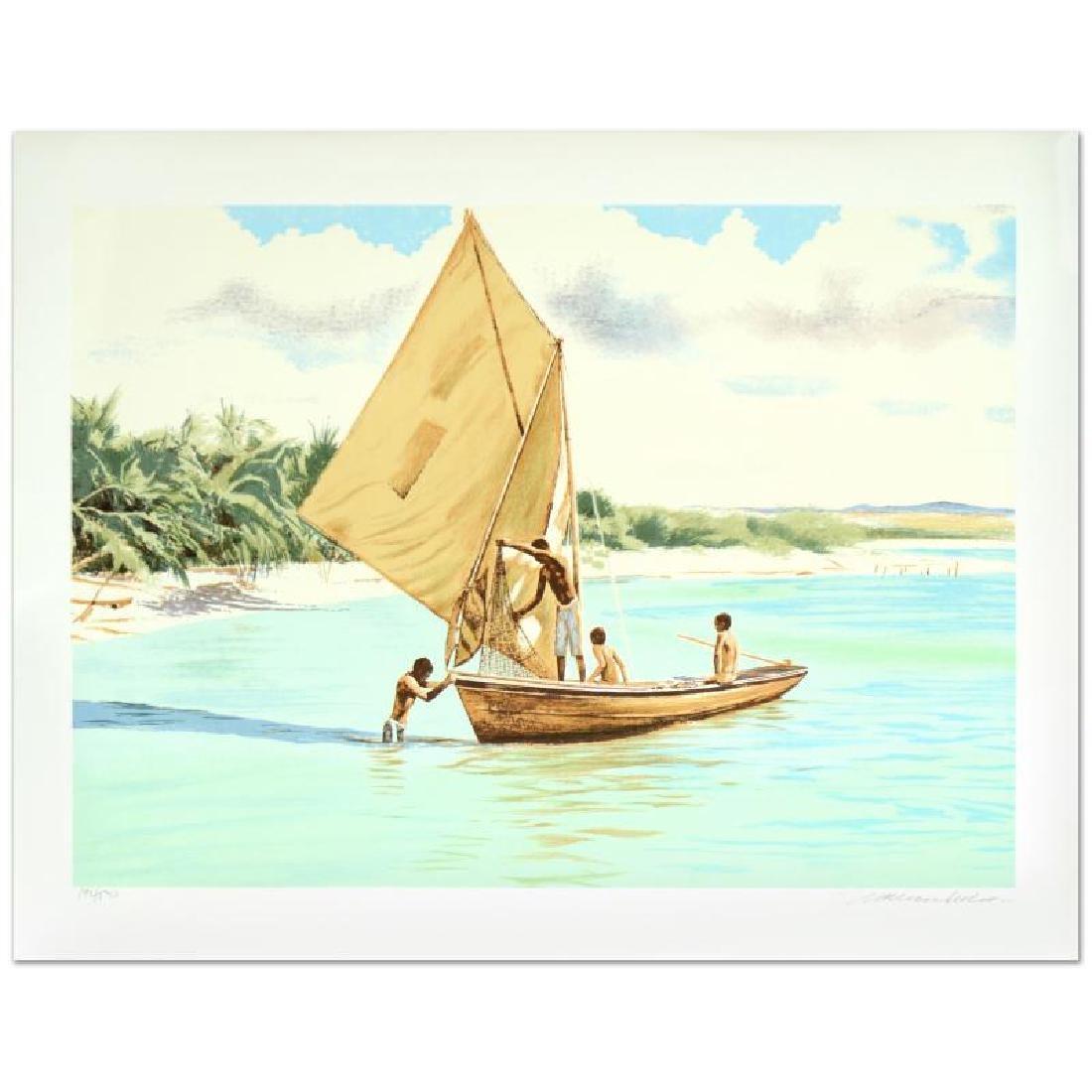"William Nelson - ""Caribbean Fishermen"" Limited Edition"