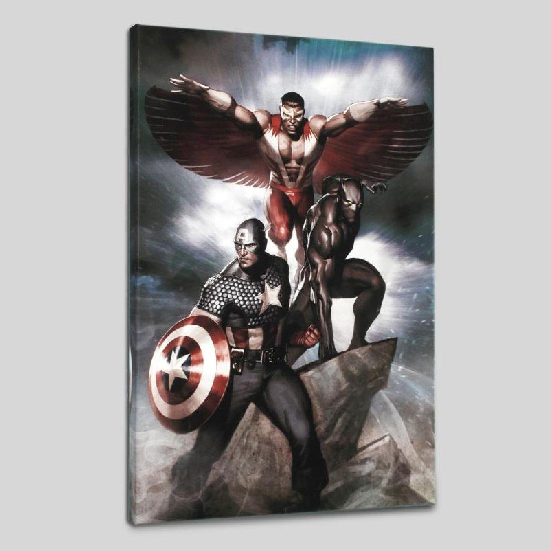 """Captain America: Hail Hydra #3"" Limited Edition Giclee"