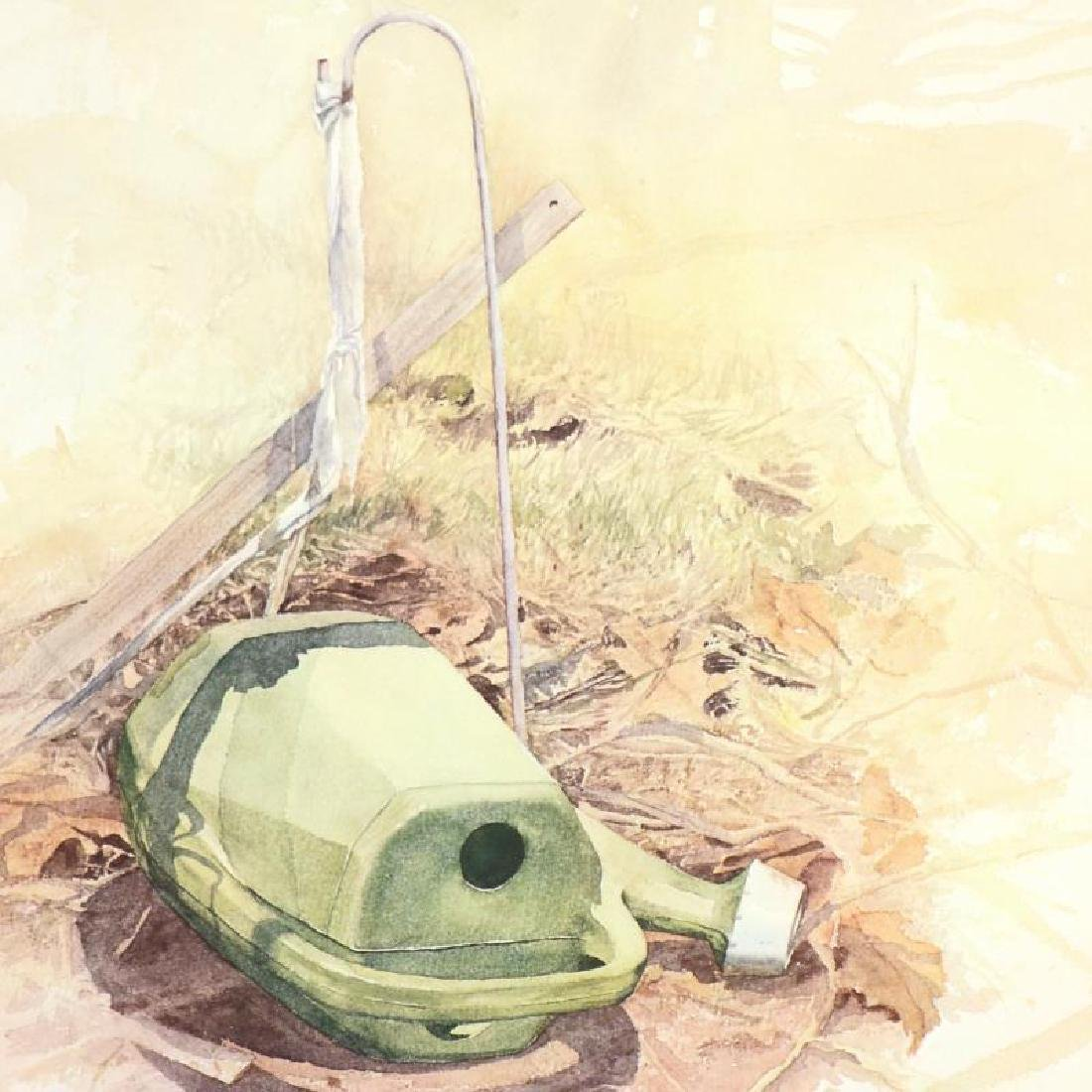 "William Nelson - ""Green Watering Can"" Limited Edition - 4"