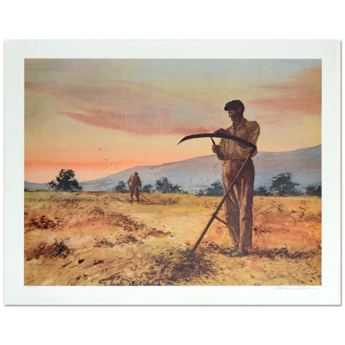 """William Nelson - """"The Harvesters"""" Limited Edition"""