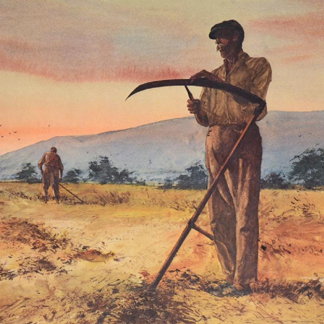 """William Nelson - """"The Harvesters"""" Limited Edition - 4"""