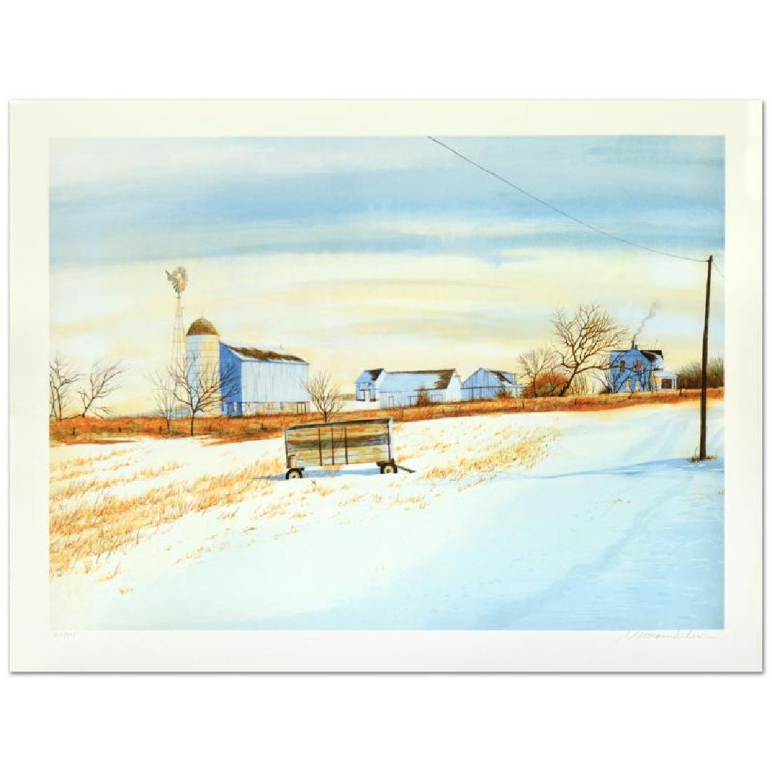 """William Nelson - """"The Lonely Wagon"""" Limited Edition"""