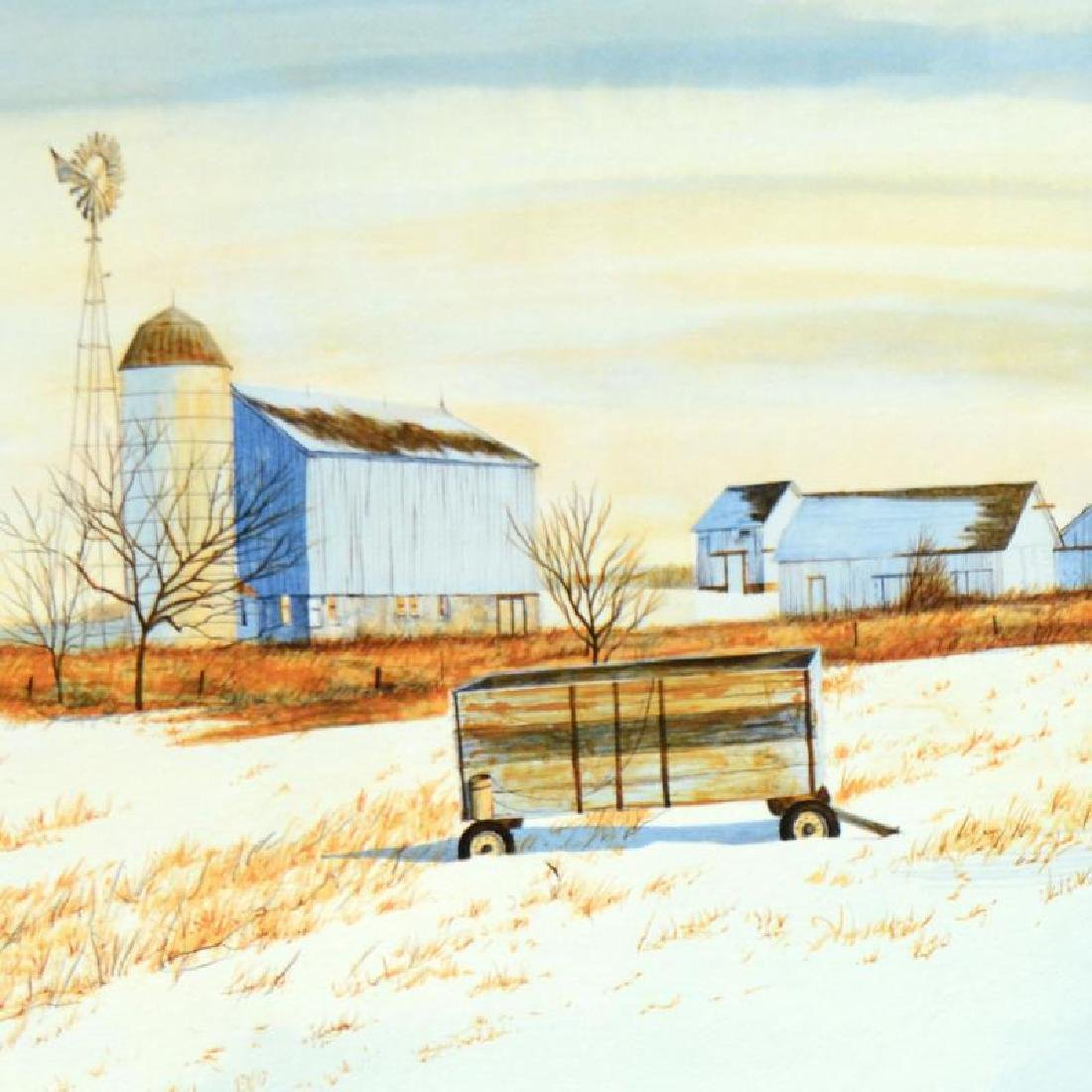 """William Nelson - """"The Lonely Wagon"""" Limited Edition - 4"""
