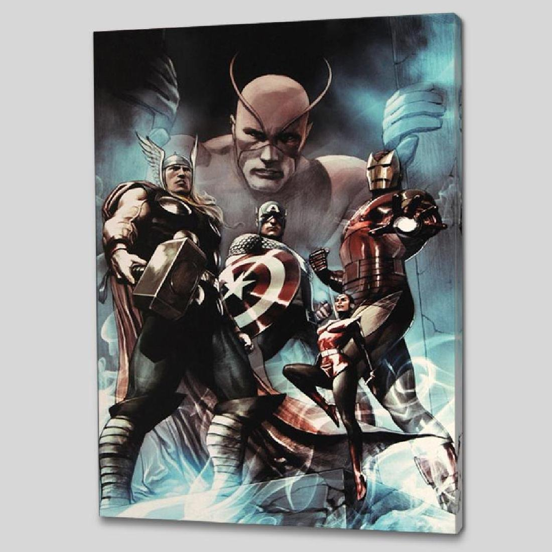 """Hail Hydra #2"" LIMITED EDITION Giclee on Canvas by Adi"