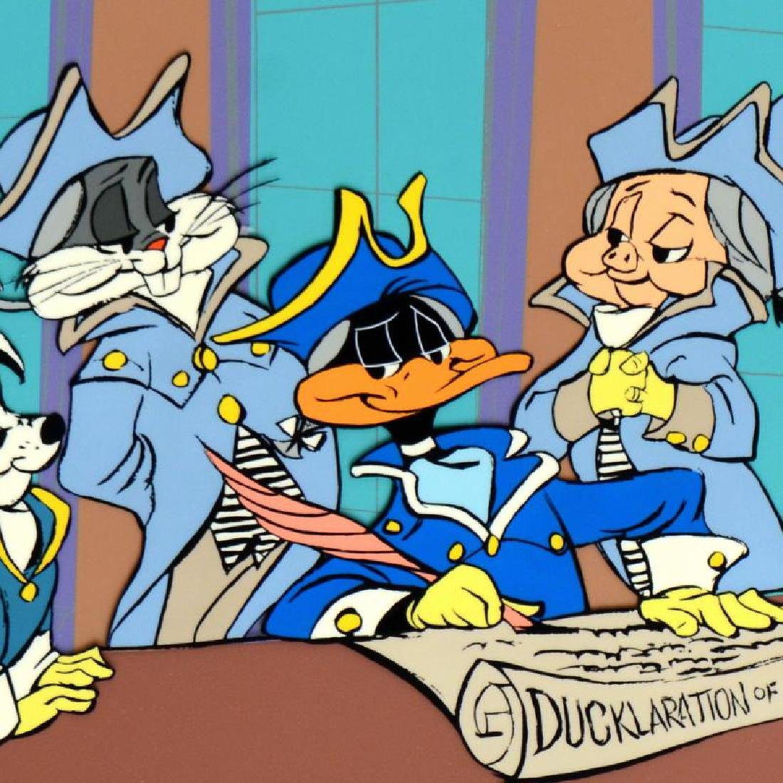 """Chuck Jones (1912-2002) - """"Ducklaration"""" SOLD OUT - 4"""