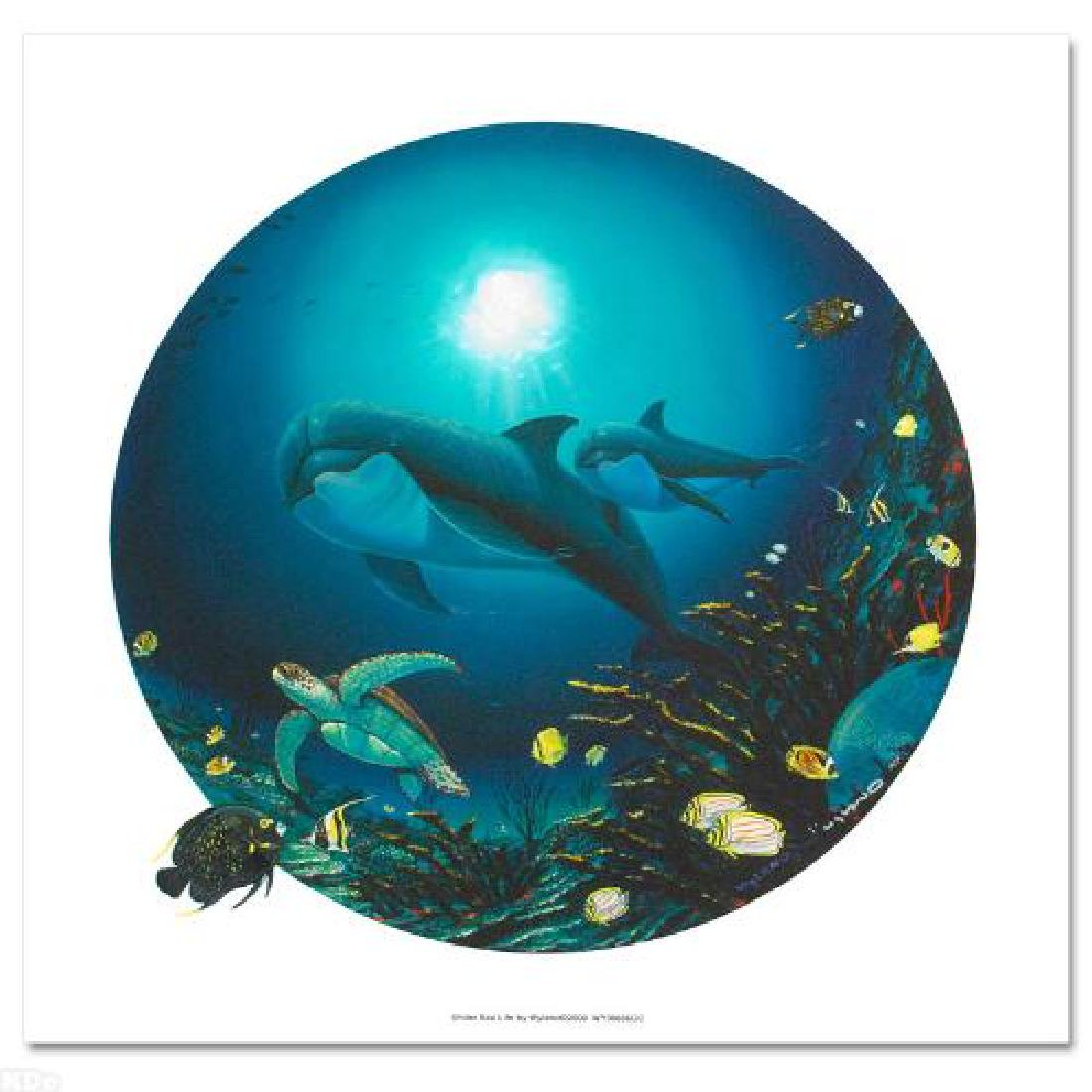 Undersea Life Limited Edition Giclee on Canvas by - 3