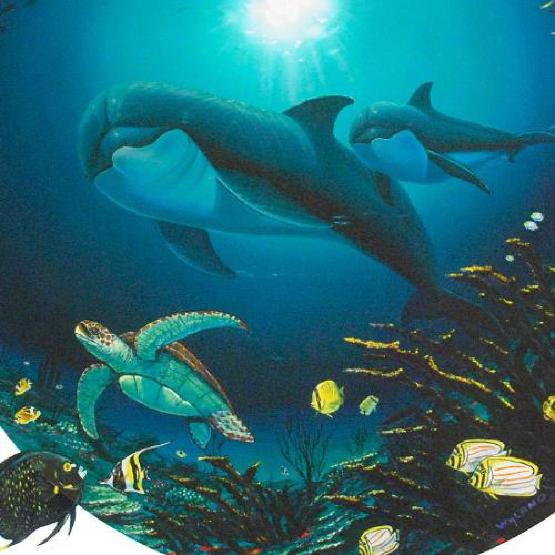 Undersea Life Limited Edition Giclee on Canvas by - 4