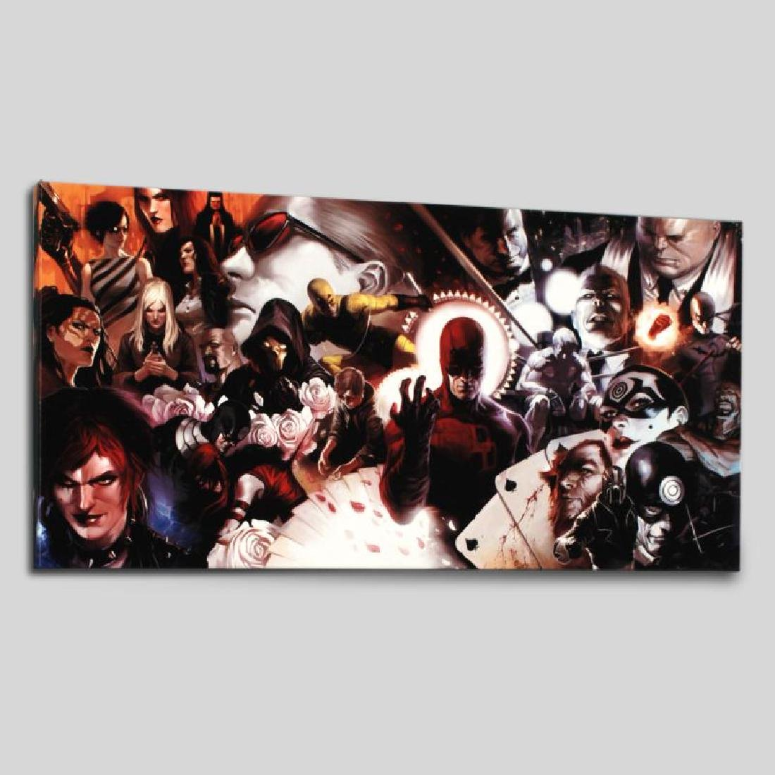 """Daredevil #500"" Limited Edition Giclee on Canvas by - 3"