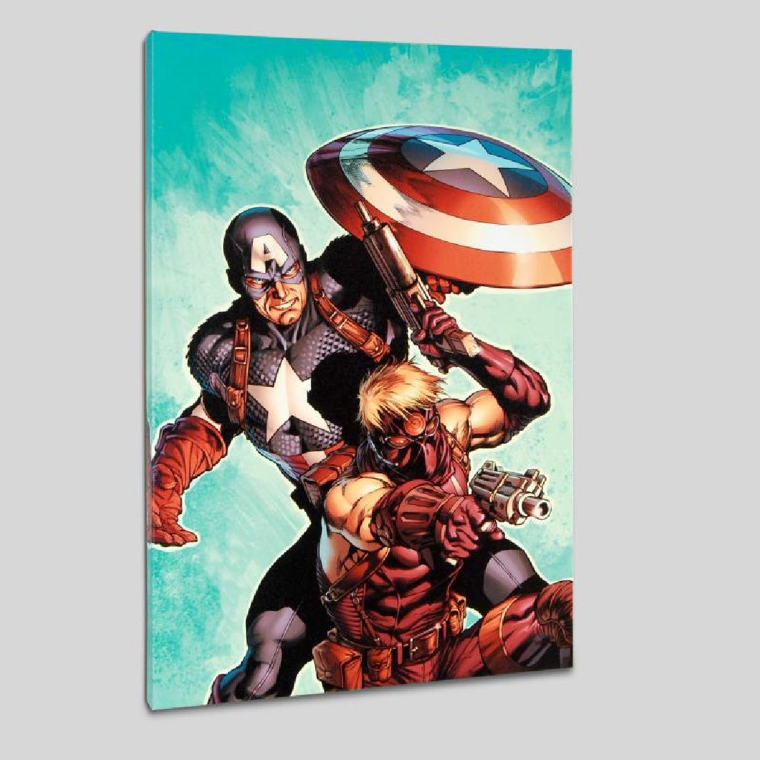 """Ultimate Avengers #2"" LIMITED EDITION Giclee on Canvas - 4"