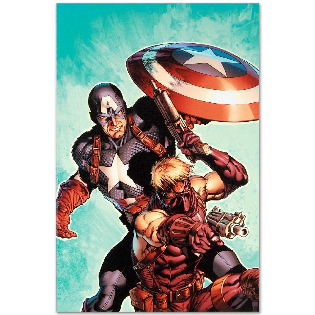 """""""Ultimate Avengers #2"""" LIMITED EDITION Giclee on Canvas - 5"""