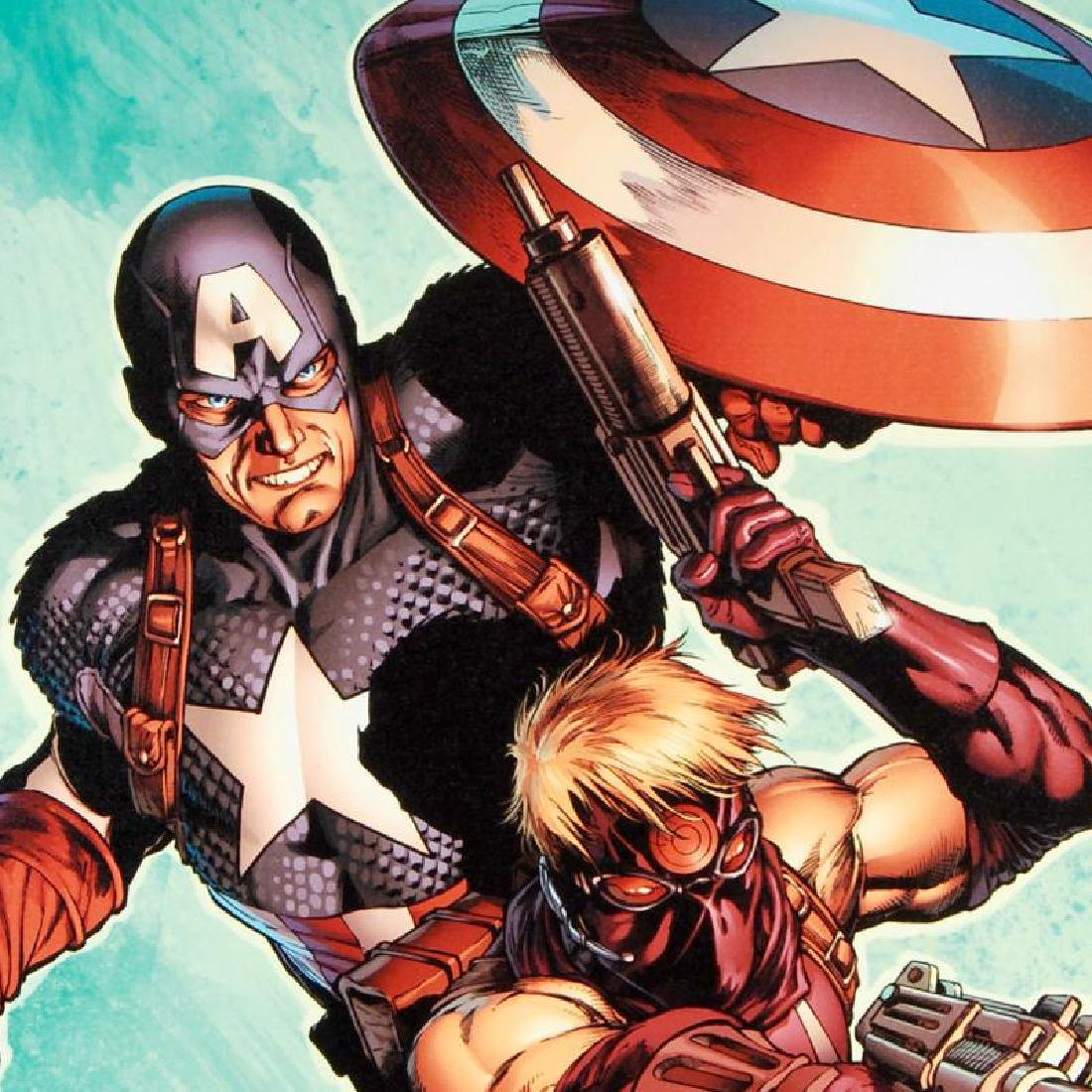 """""""Ultimate Avengers #2"""" LIMITED EDITION Giclee on Canvas - 6"""