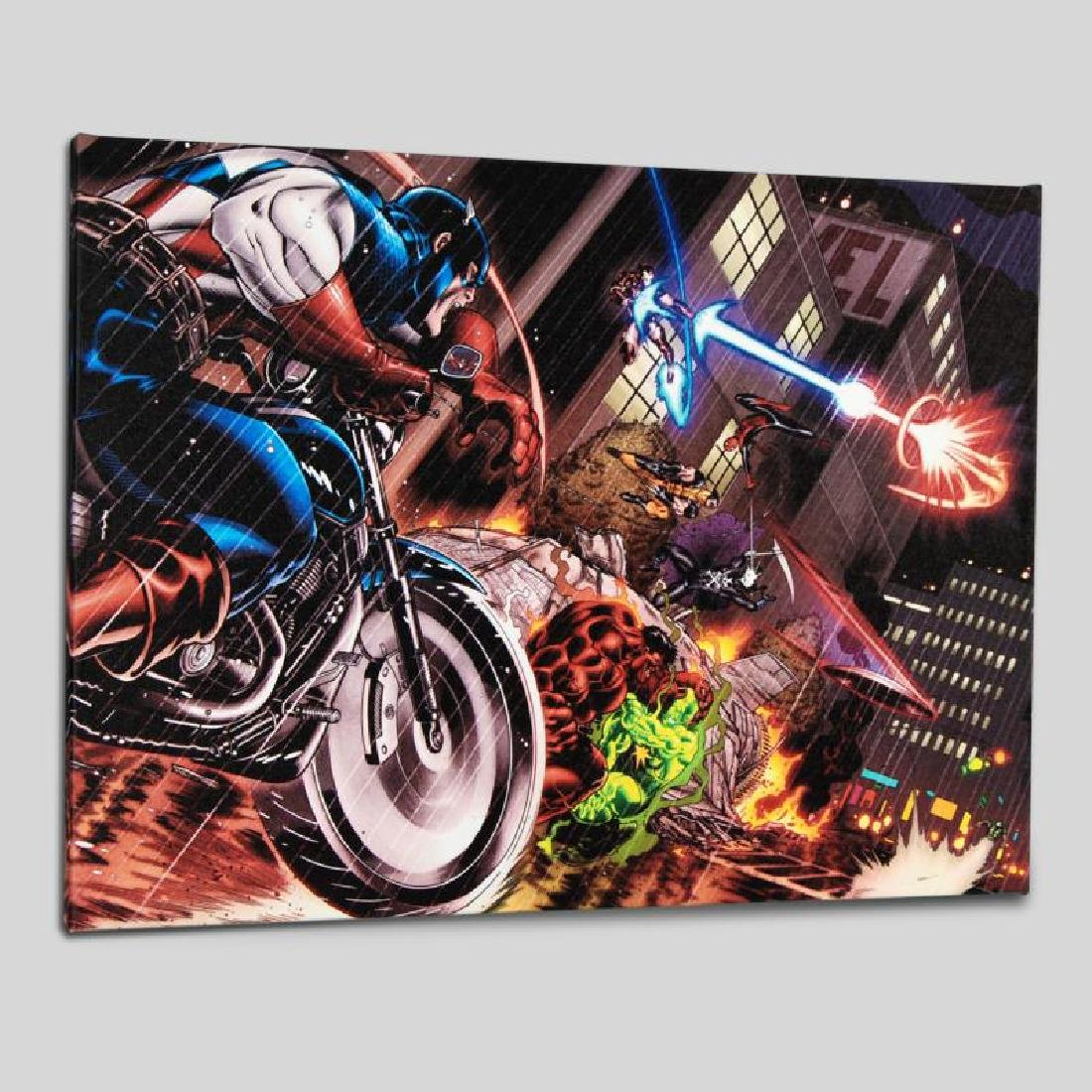 """Avengers: X-Sanction #1"" LIMITED EDITION Giclee on"