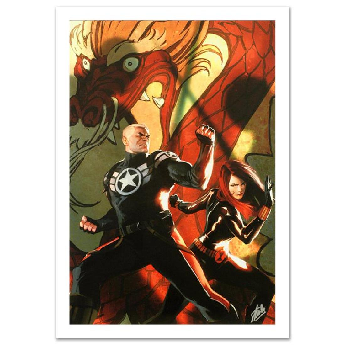 """""""Secret Avengers #6"""" Limited Edition Giclee on Canvas"""