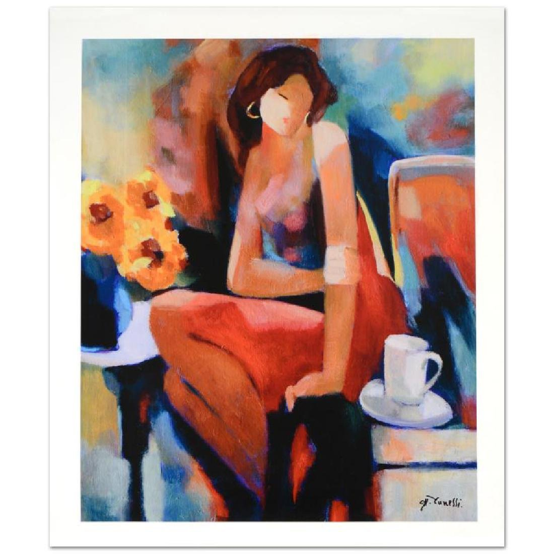 """""""Lady"""" Limited Edition Giclee on Canvas by Yunessi"""
