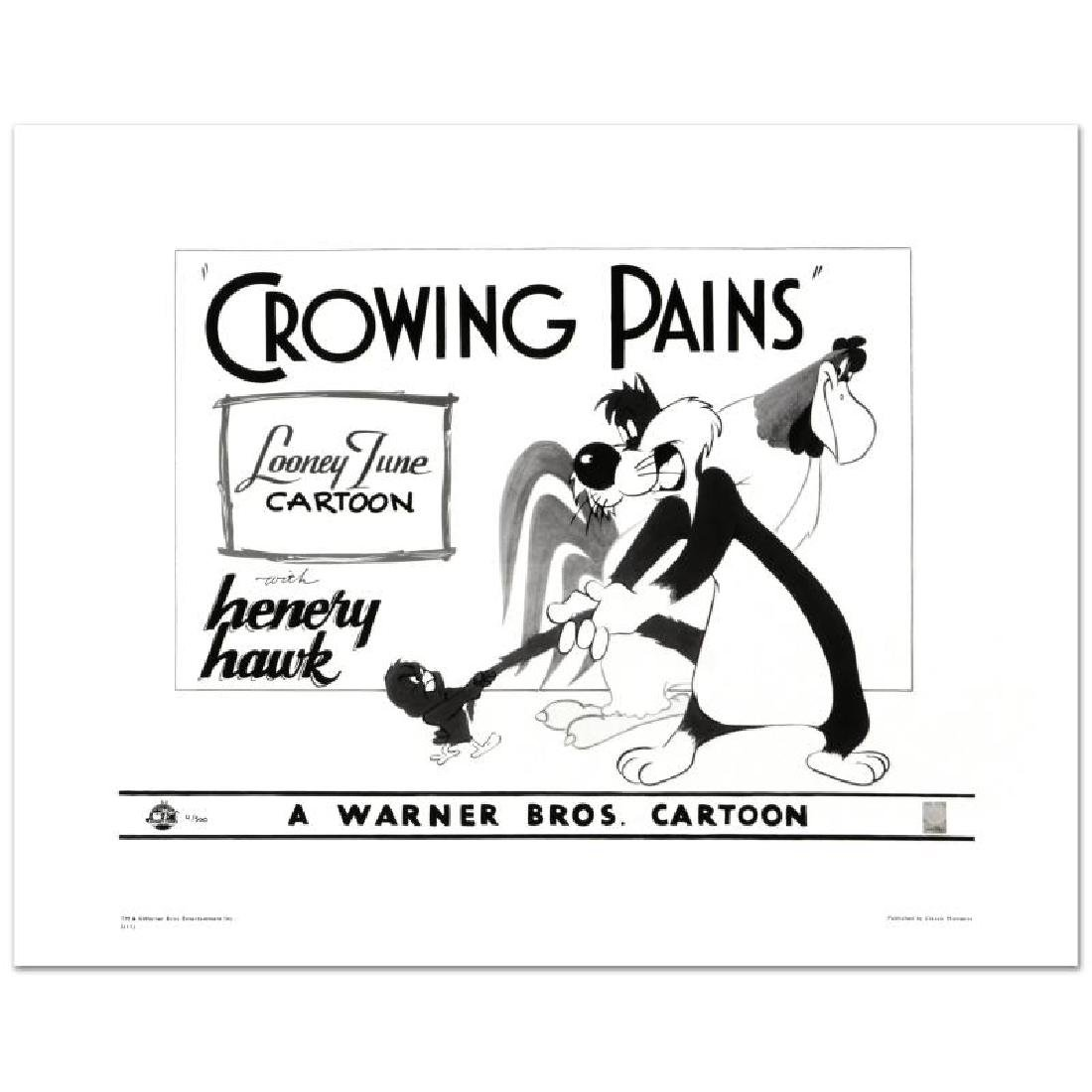 """""""Crowing Pains with Sylvester"""" Limited Edition Giclee"""