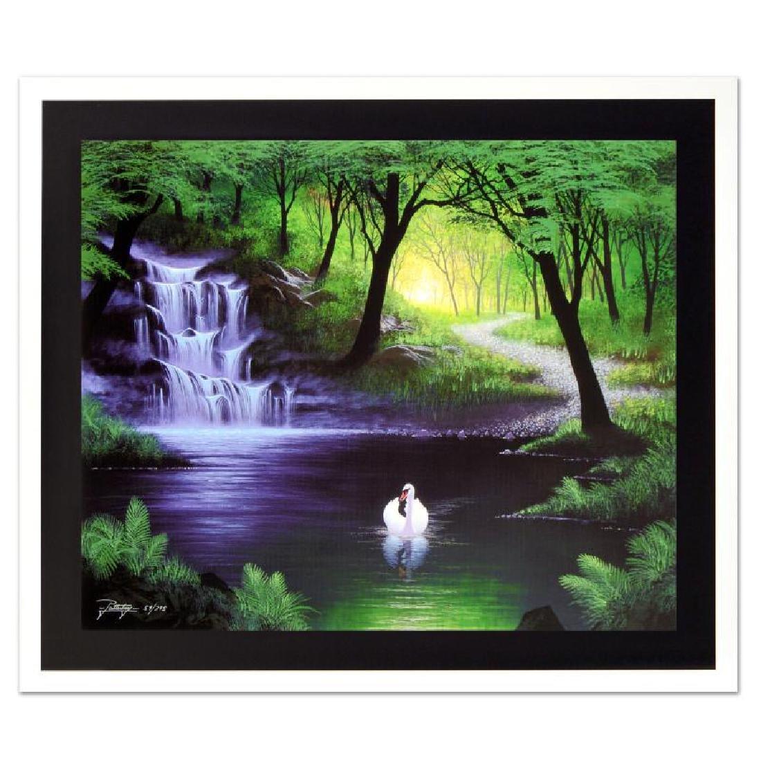 "Jon Rattenbury - ""Swan Falls"" Limited Edition Giclee on"