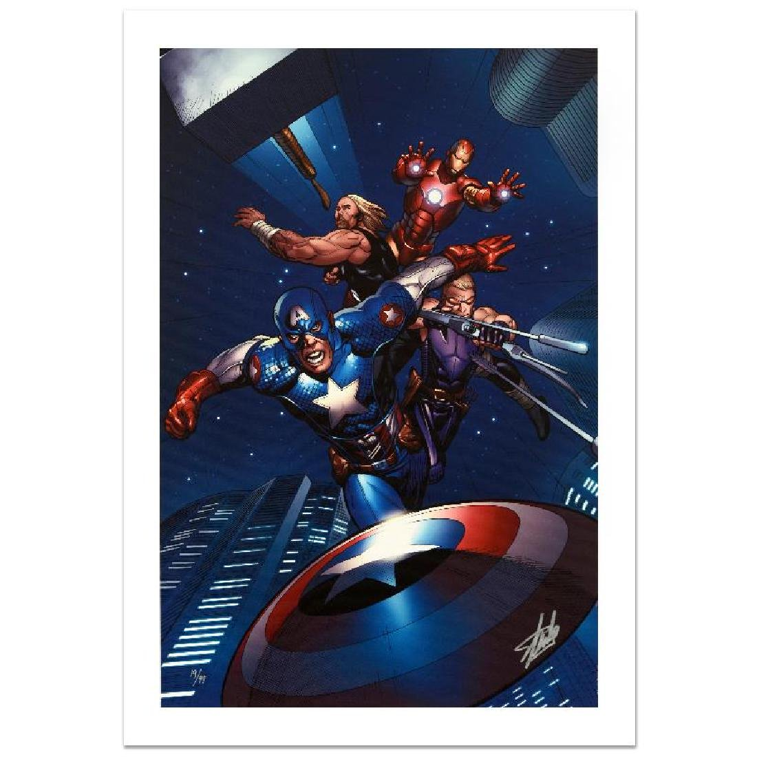 """""""Ultimate New Ultimates #5"""" Limited Edition Giclee on"""