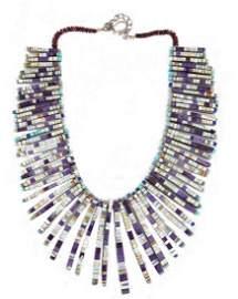 Charlene Reano, Santo & San Felipe Pueblo Necklace