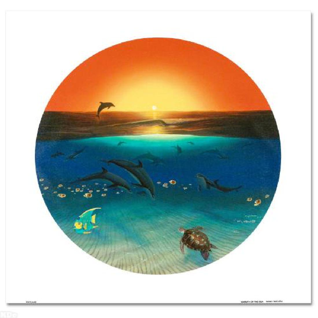 Warmth of the Sea LIMITED EDITION Giclee on Canvas by