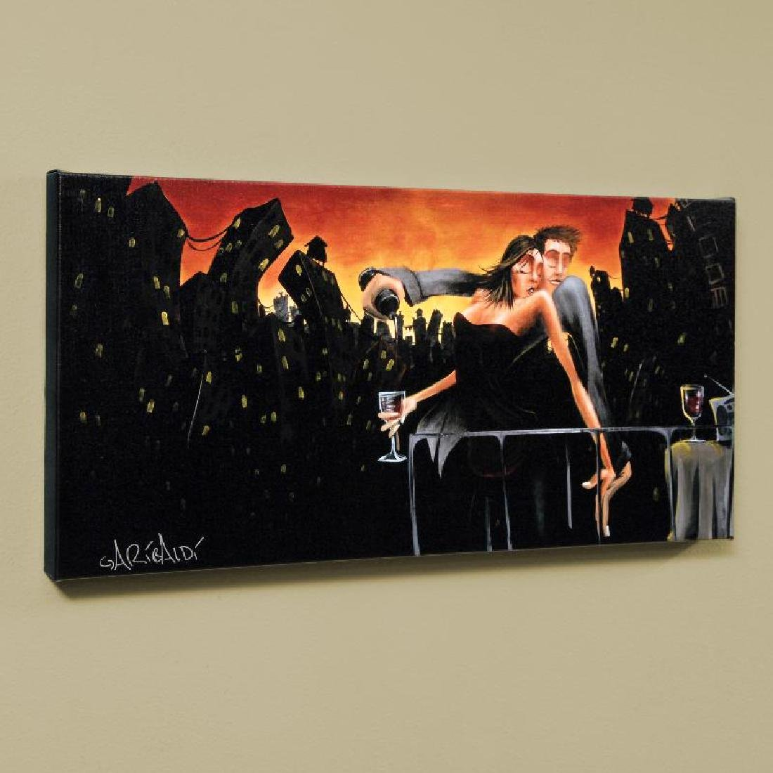 """""""City Lights & Love"""" LIMITED EDITION Giclee on Canvas"""