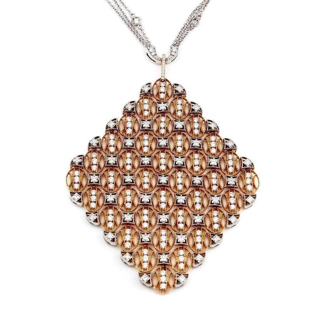 Tacori Vault 18KT White Rose Gold Afleuress Collection