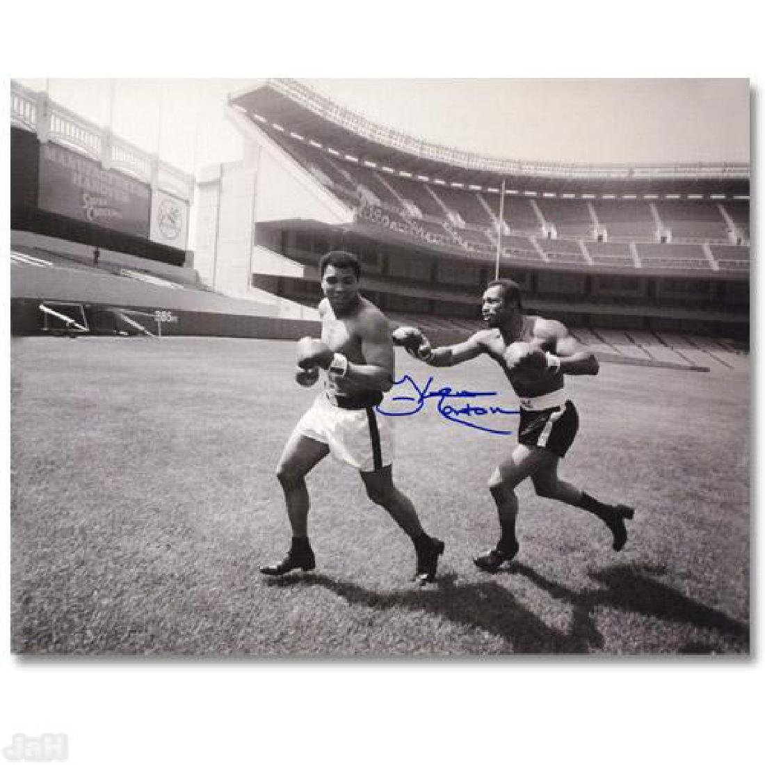 """Must-Have Signed Sports Photo! """"Ken Norton and Ali,"""