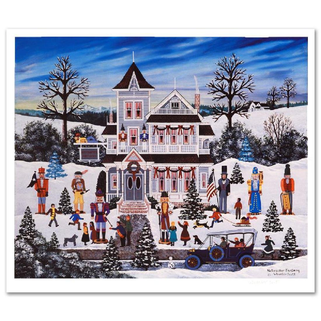 Nutcracker Fantasy Limited Edition Lithograph by Jane