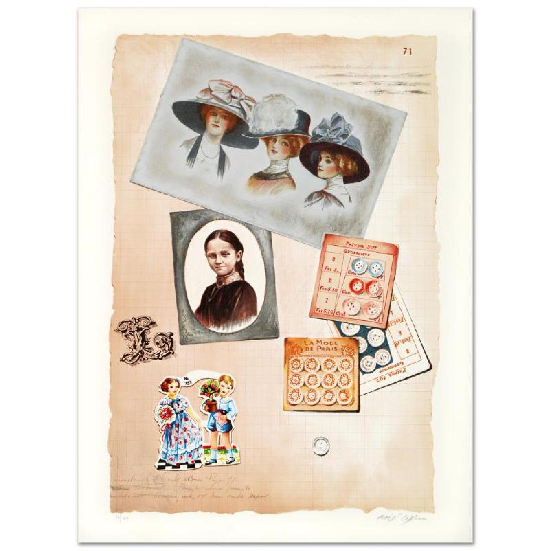 """""""Family Album II"""" Limited Edition Lithograph by Arie"""