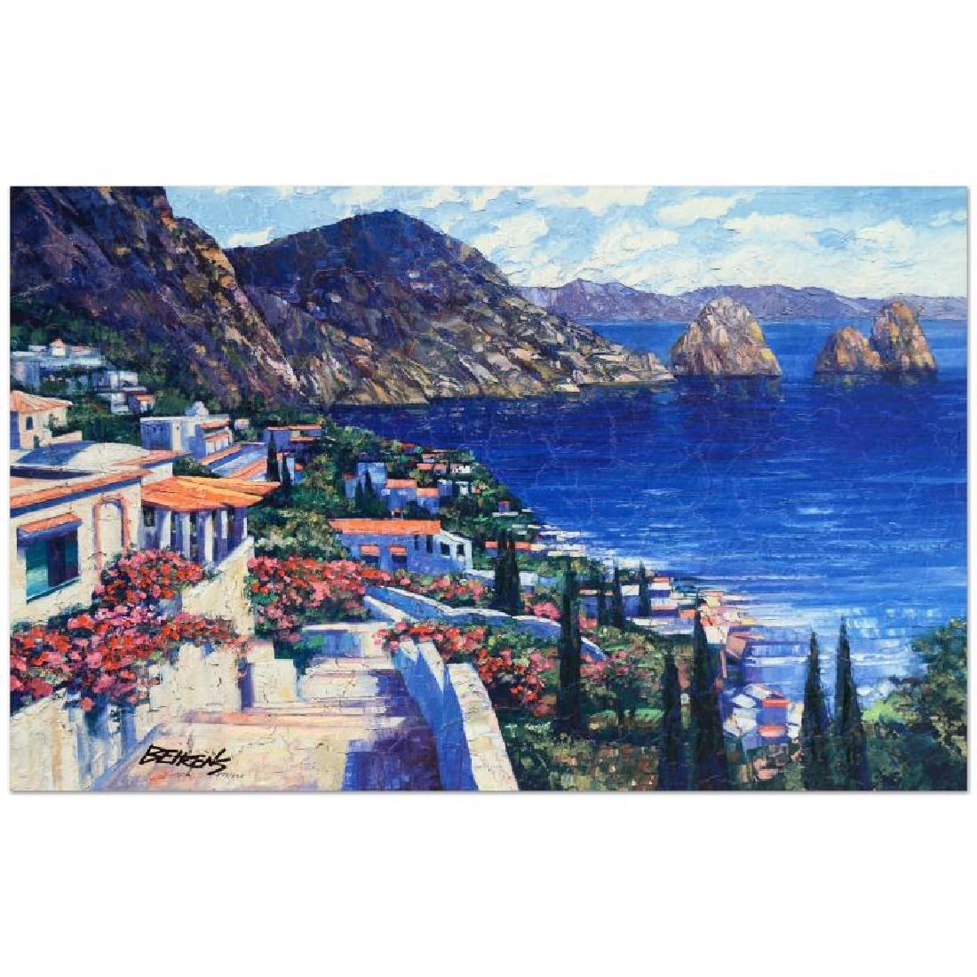 """Howard Behrens (1933-2014) - """"Isle of Capri"""" Limited"""