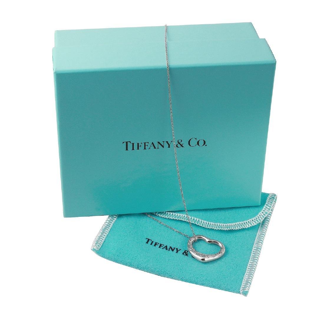 Platinum Tiffany Co. Elsa Peretti Necklace L1213