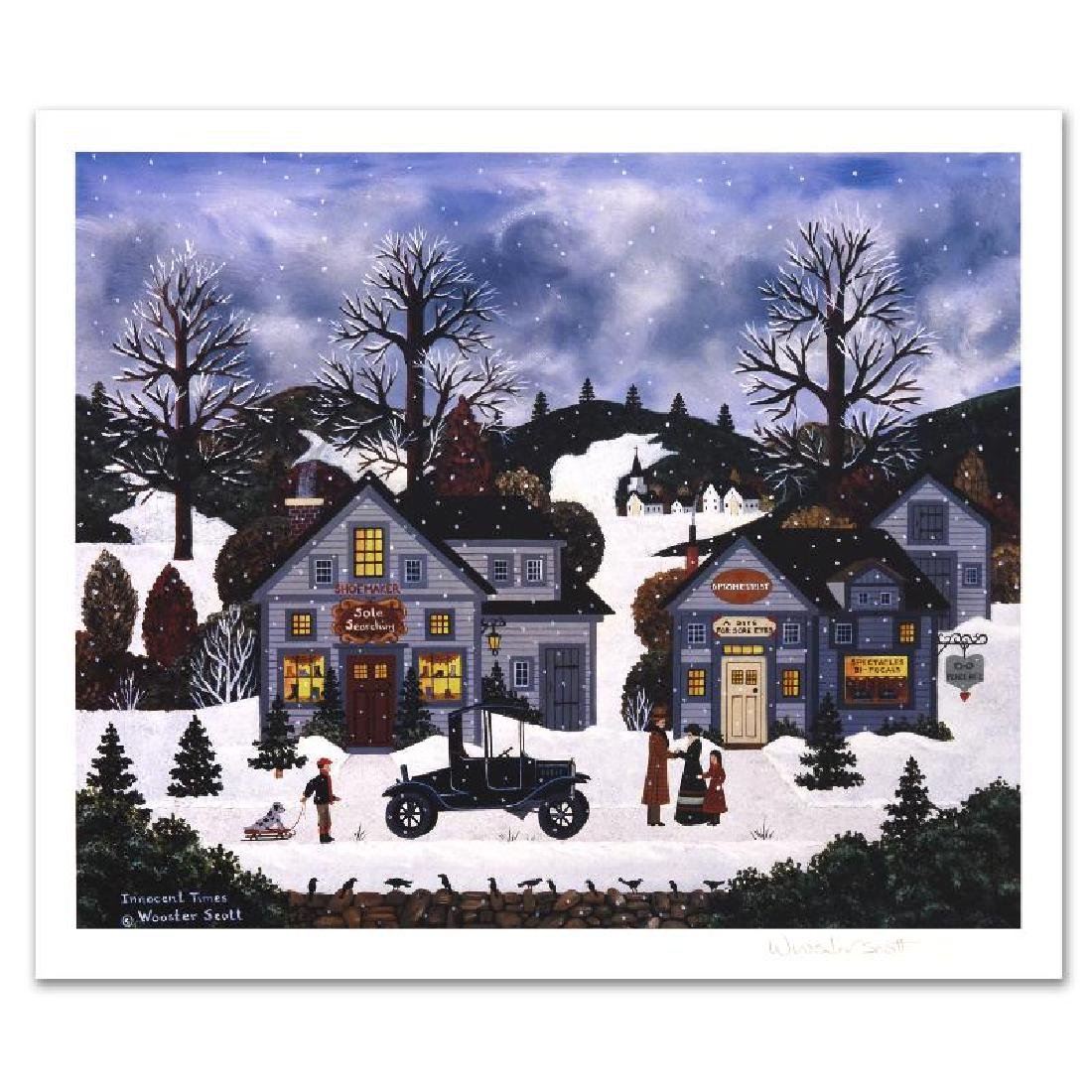 Innocent Times Limited Edition Lithograph by Jane