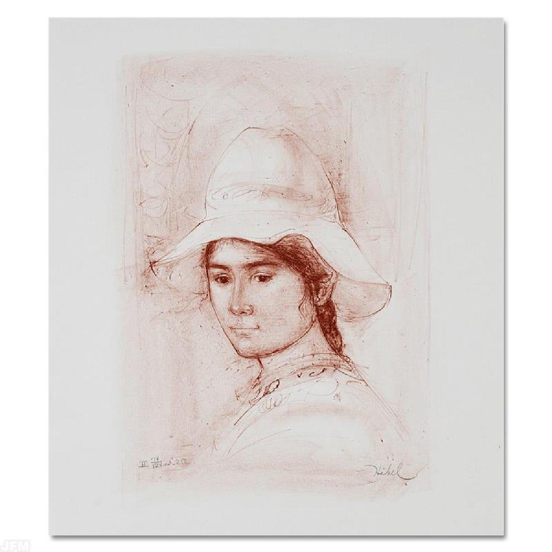 """""""Magda"""" Limited Edition Lithograph by Edna Hibel"""