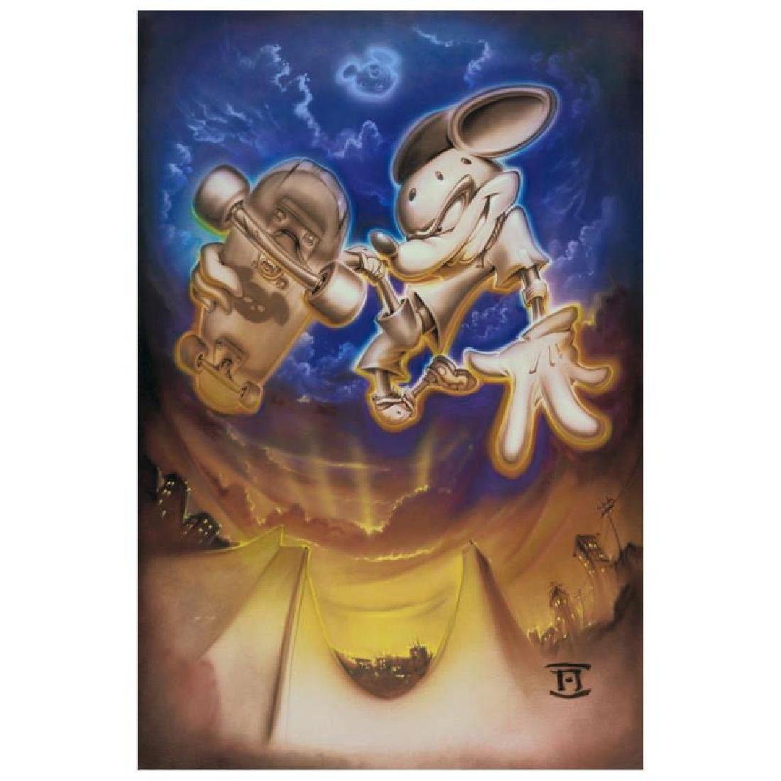 "Noah - ""Grind Mouse"" Limited Edition Giclee on Canvas,"