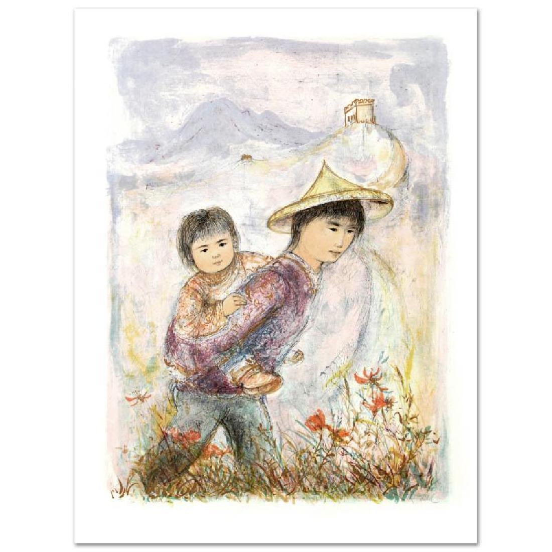 """The Great Wall"" Limited Edition Lithograph by Edna"