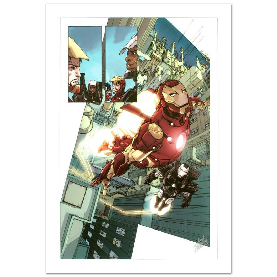 """""""Iron Man 2.0 #1"""" Limited Edition Giclee on Canvas by"""