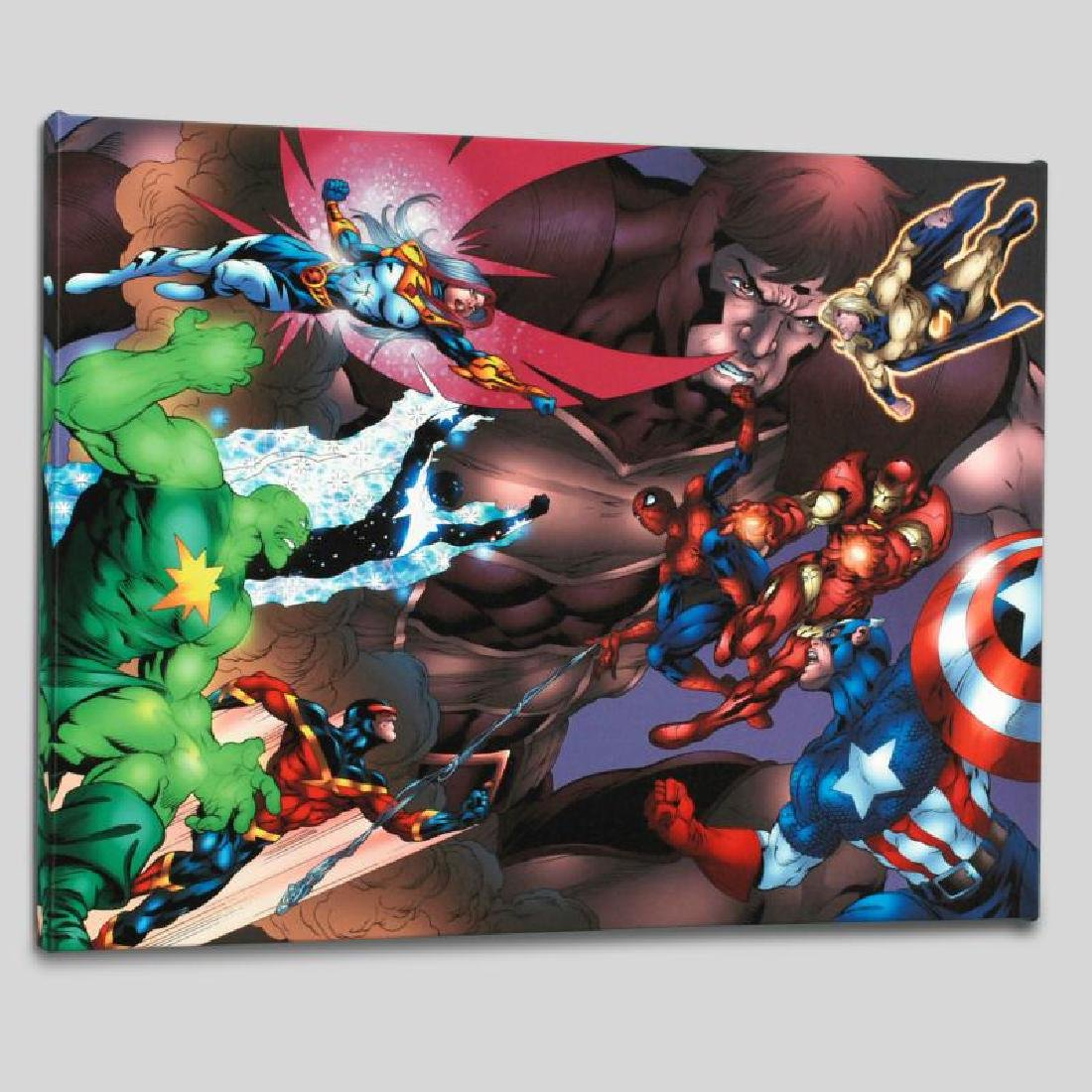 """""""New Thunderbolts #13"""" Limited Edition Giclee on Canvas"""