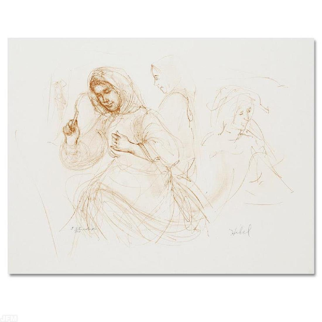 """""""Three Women in the Fields"""" Limited Edition Lithograph"""