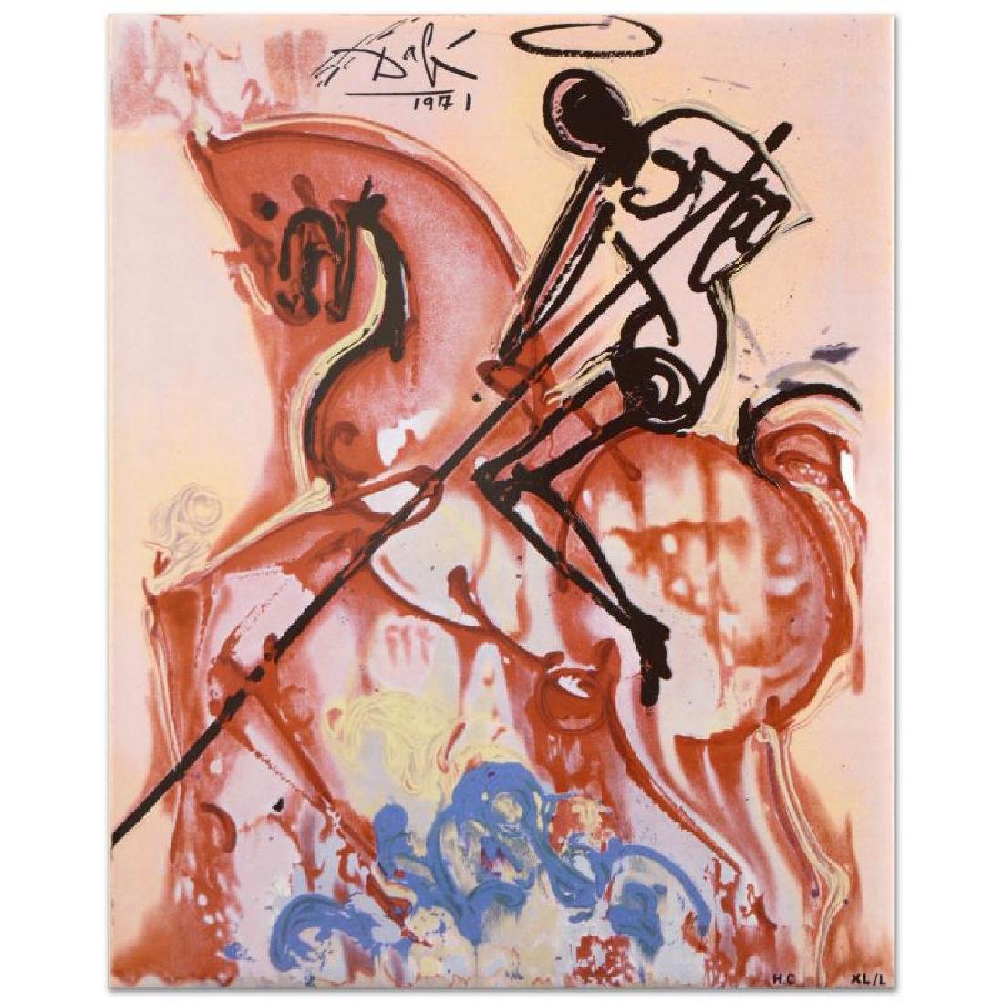 "Salvador Dali (1904-1989) - ""St. George and The Dragon"""
