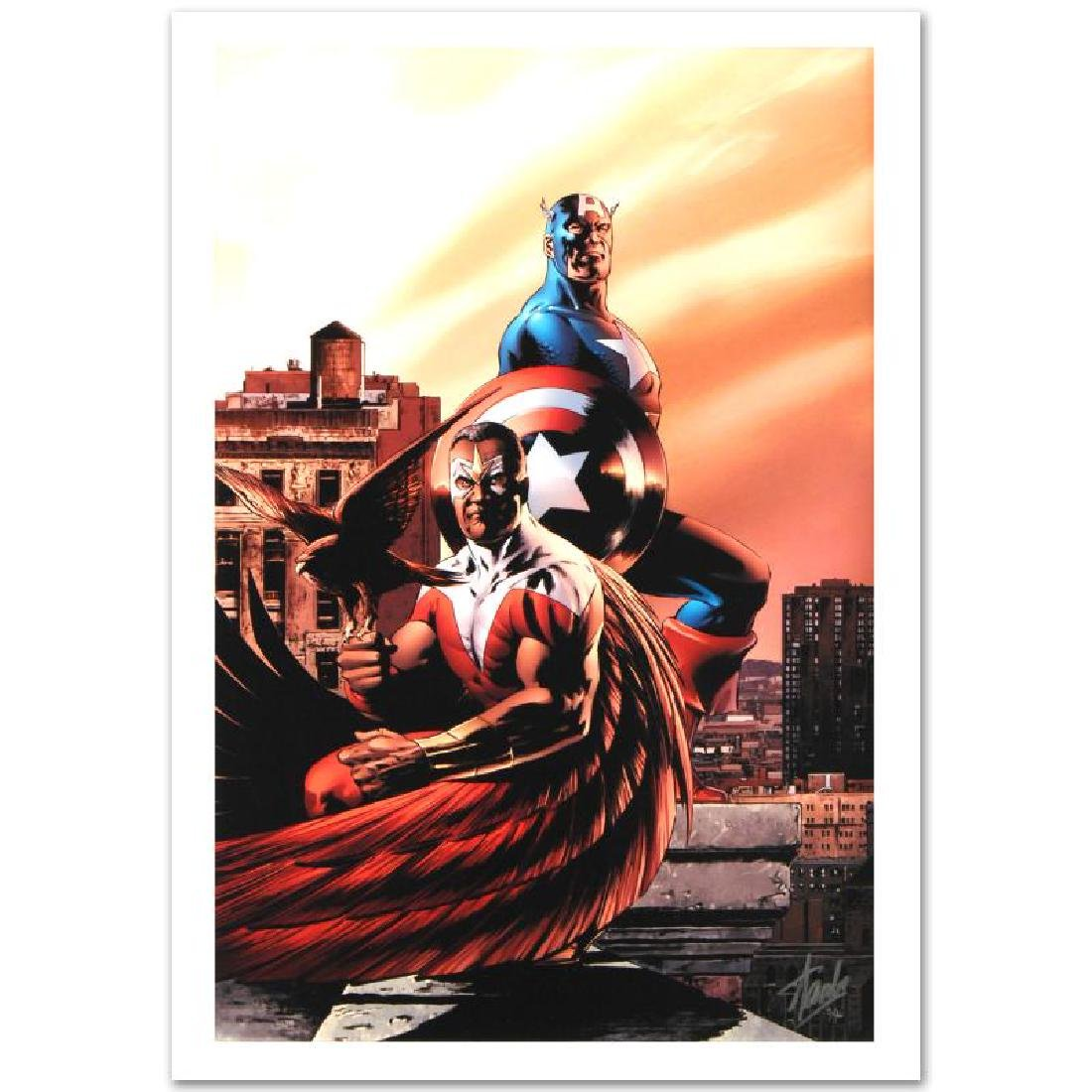 """Captain America & The Falcon #5"" Limited Edition"