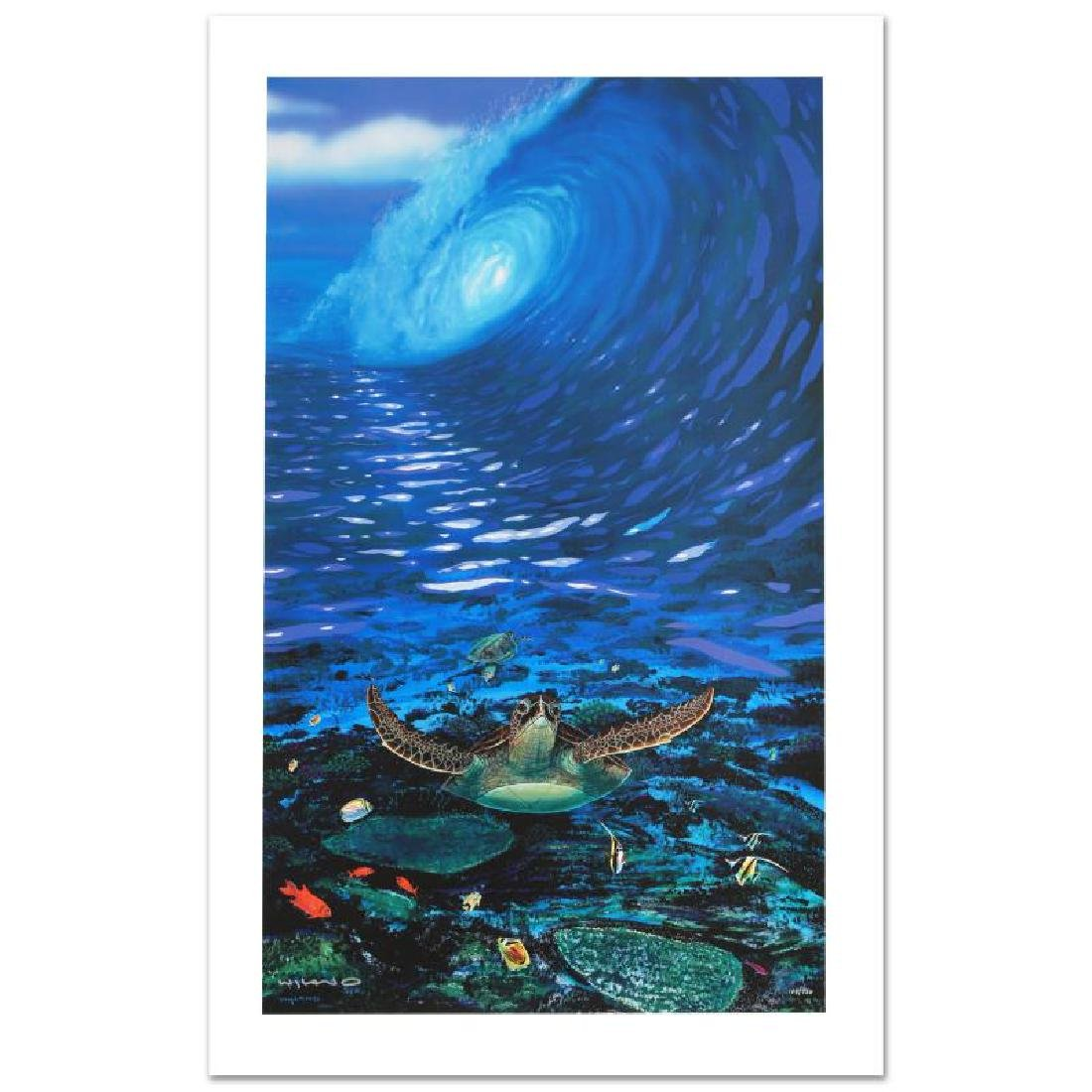 """""""Turtle Time"""" Limited Edition Giclee on Canvas by"""
