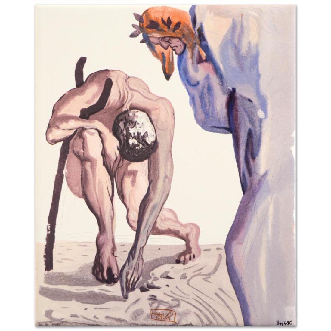 """Salvador Dali (1904-1989) - """"Princes of the Blossoming"""