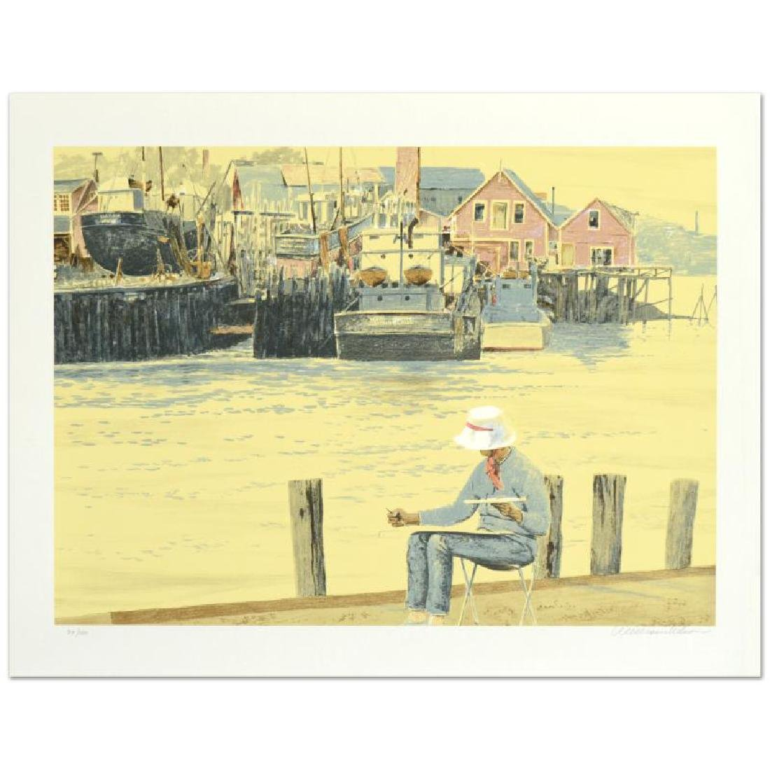 """William Nelson - """"Painting in New England"""" Limited"""