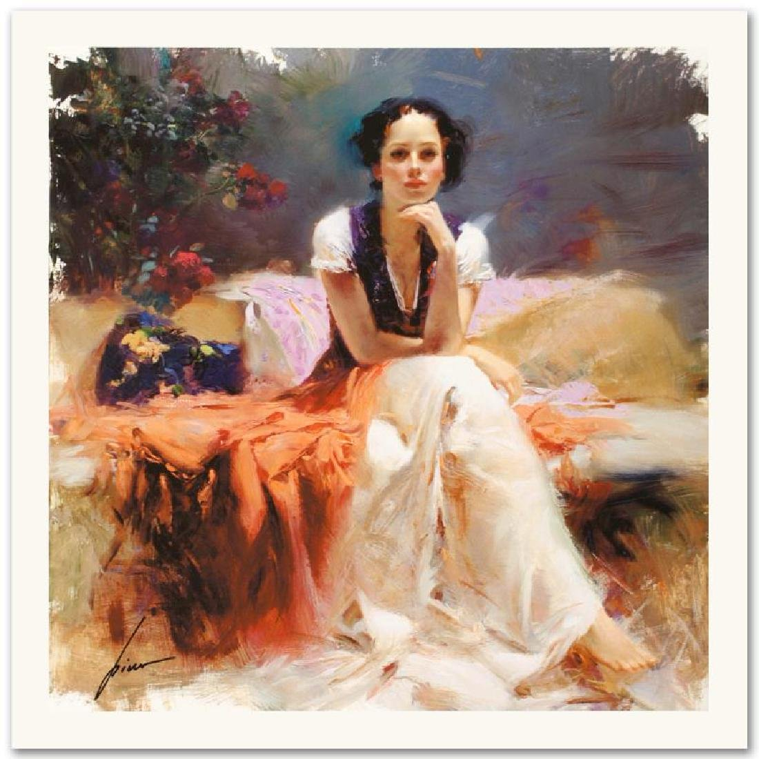 """""""First Glance"""" Limited Edition Giclee by Pino"""