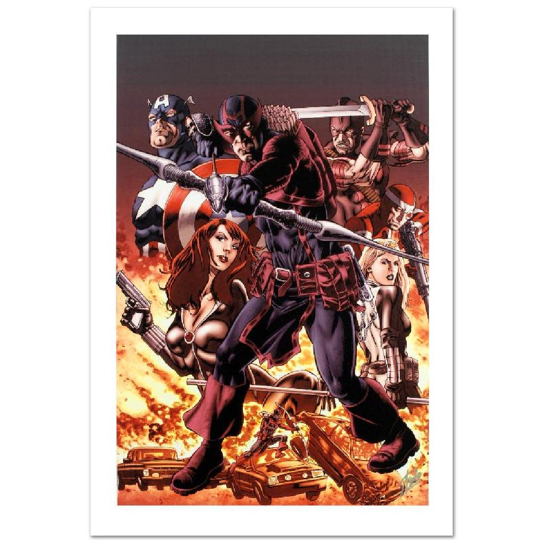 """""""Hawkeye: Blind Spot #1"""" Limited Edition Giclee on"""