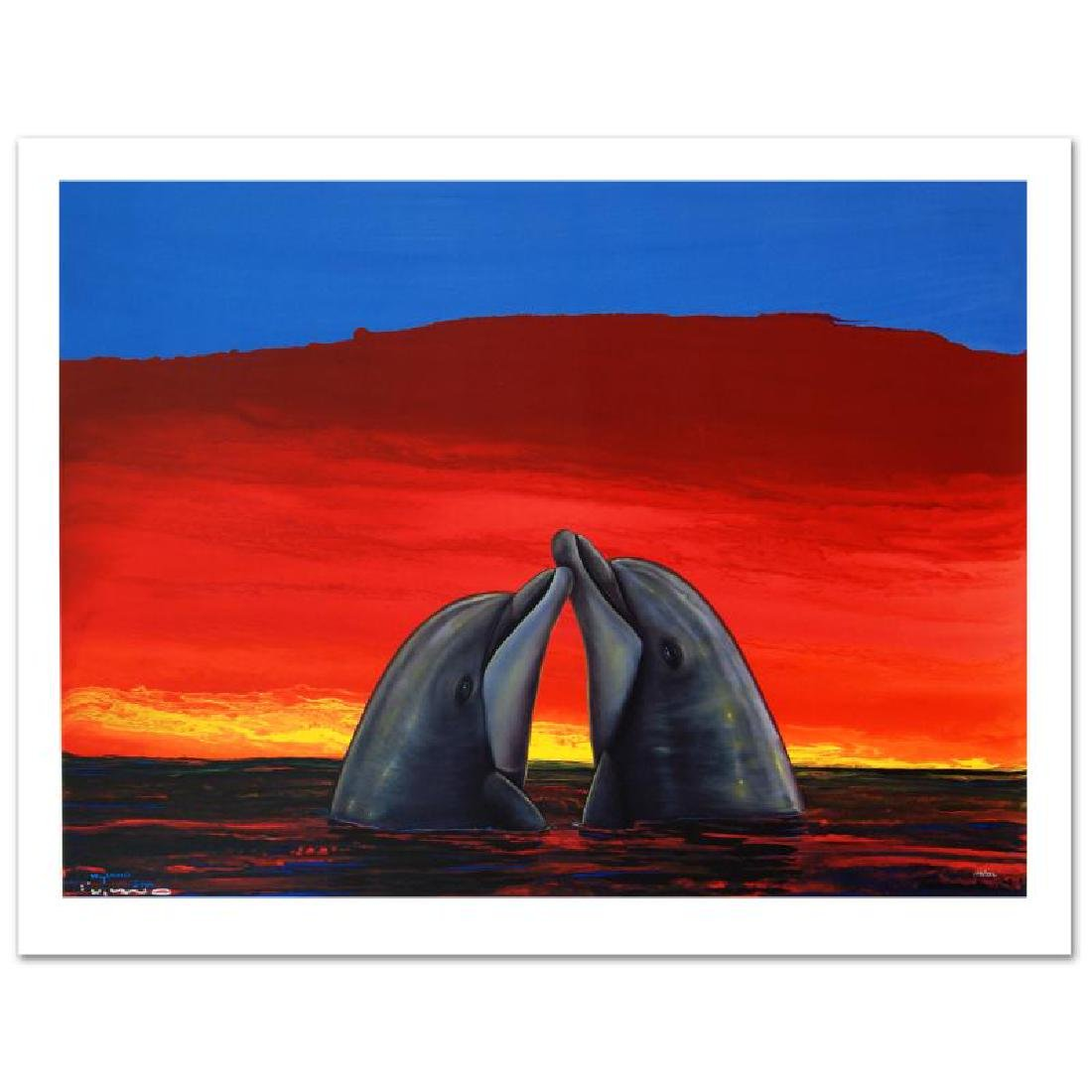 """""""Sunset Romance"""" Limited Edition Giclee on Canvas by"""