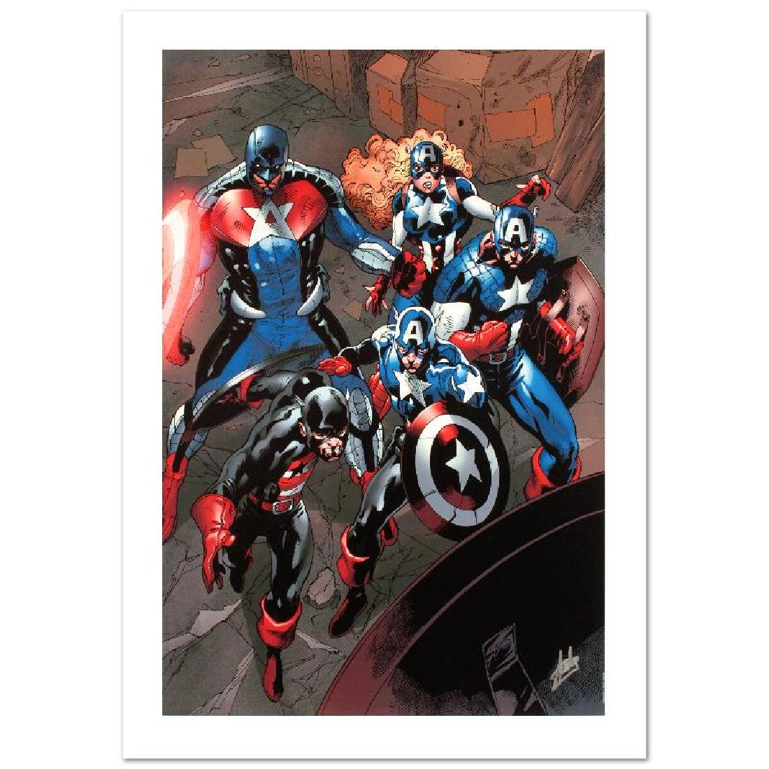 """""""Captain America Corps #2"""" Limited Edition Giclee on"""