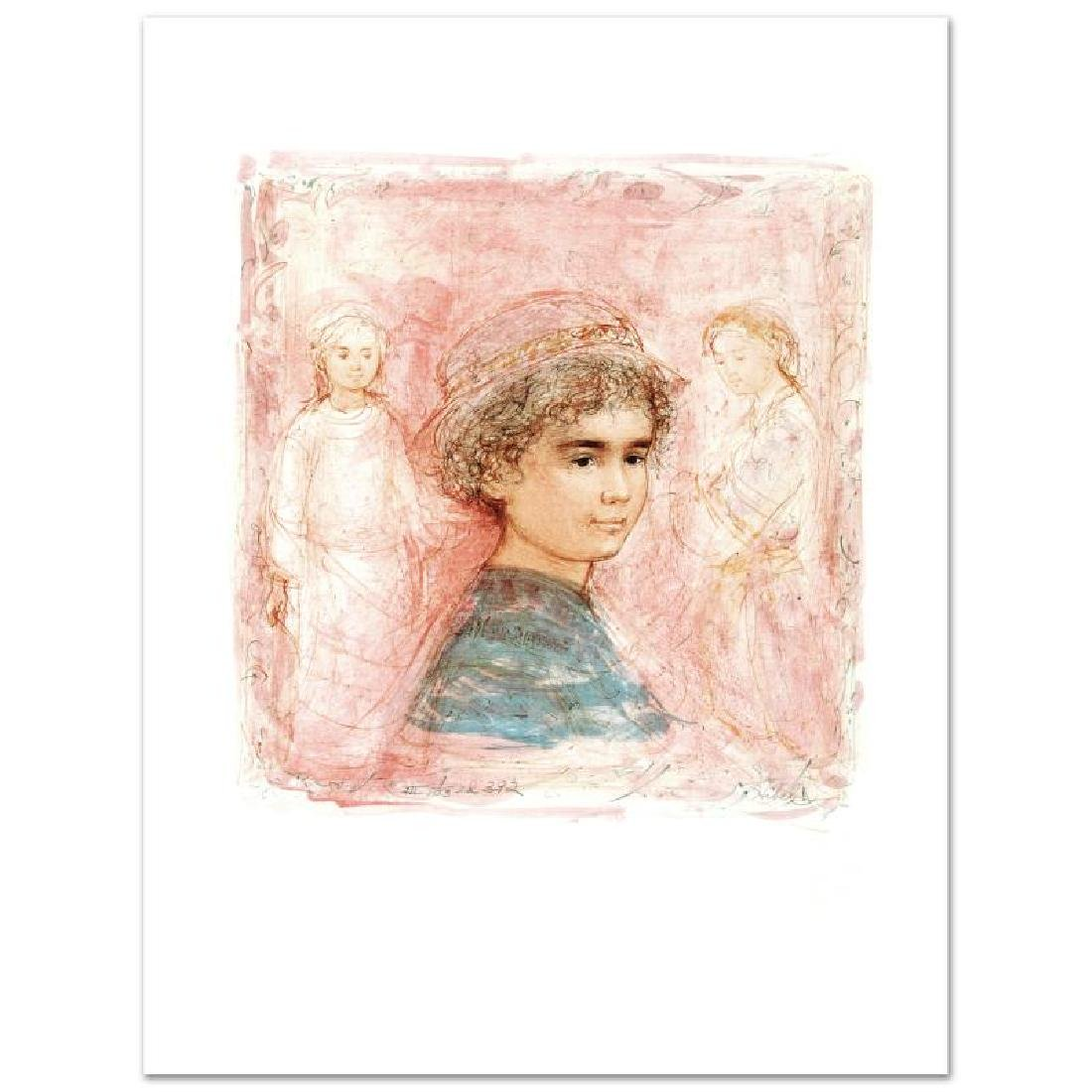 """""""Matthew"""" Limited Edition Lithograph by Edna Hibel"""