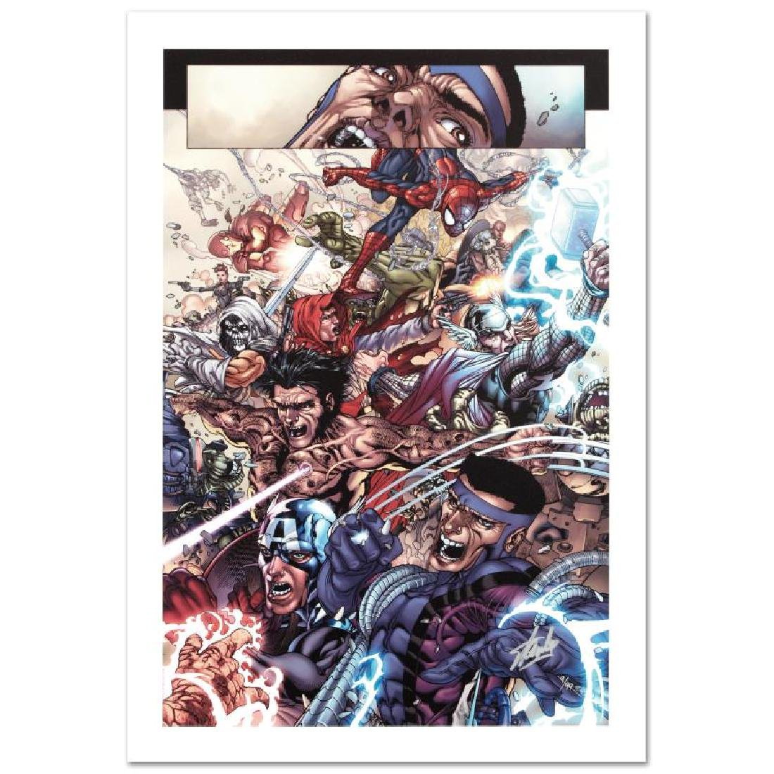 """""""Avengers: The Initiative #19"""" Limited Edition Giclee"""