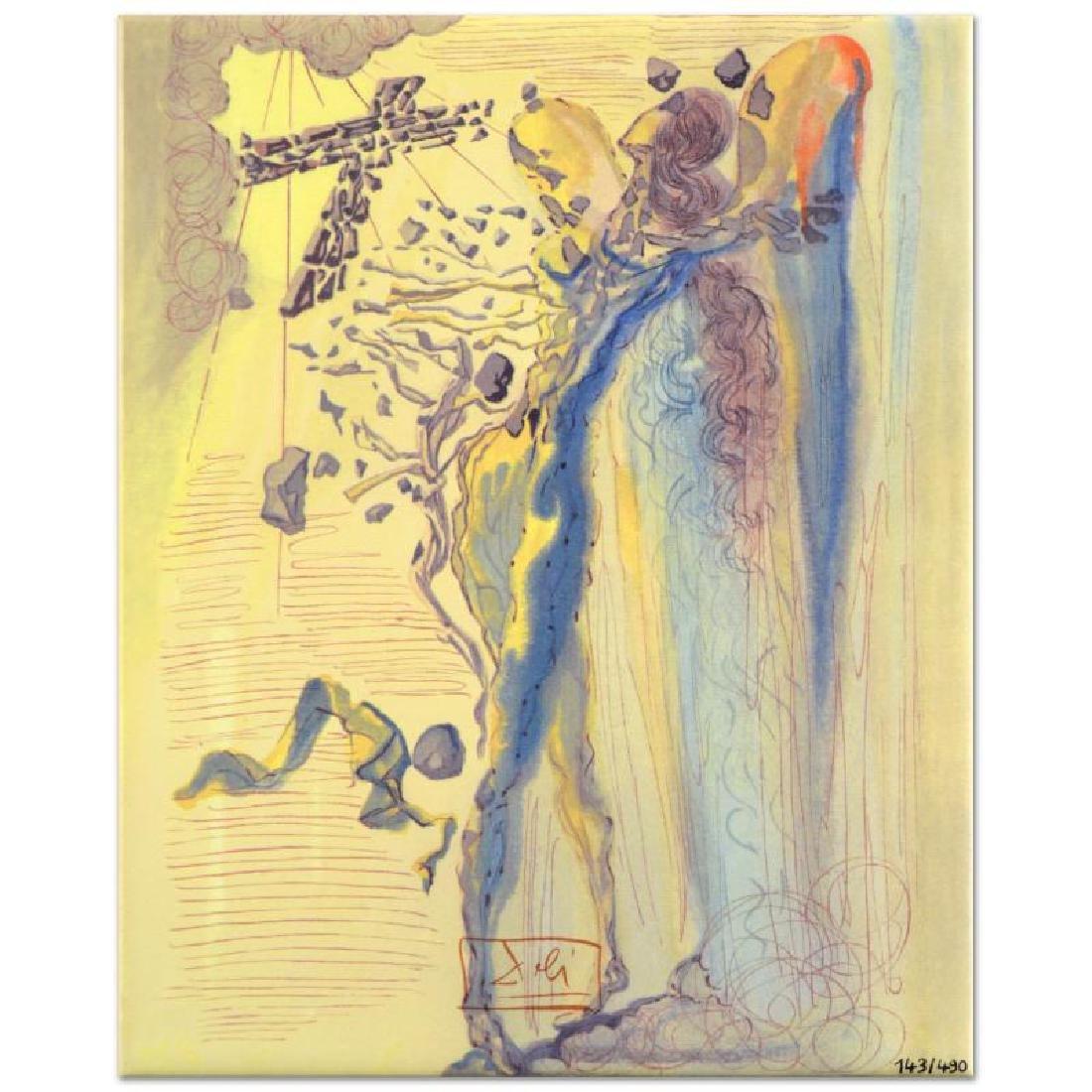 "Salvador Dali (1904-1989) - ""Shine of Glorious Bodies"""